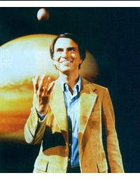 Carl Sagan, our cosmic leader.